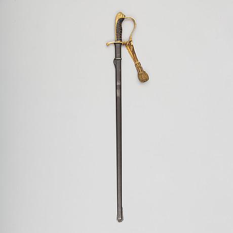1899, för infanteriofficer, med balja