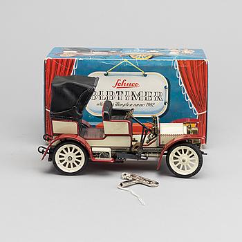 LEKSAKSBIL Schuco Mercedes simplex anno 1902, 1970-tal.