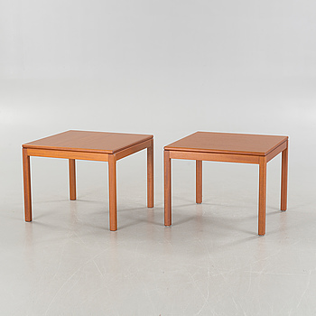 Two similar coffee tables from Klaessons Möbelfabrik, second half of the 20th century.