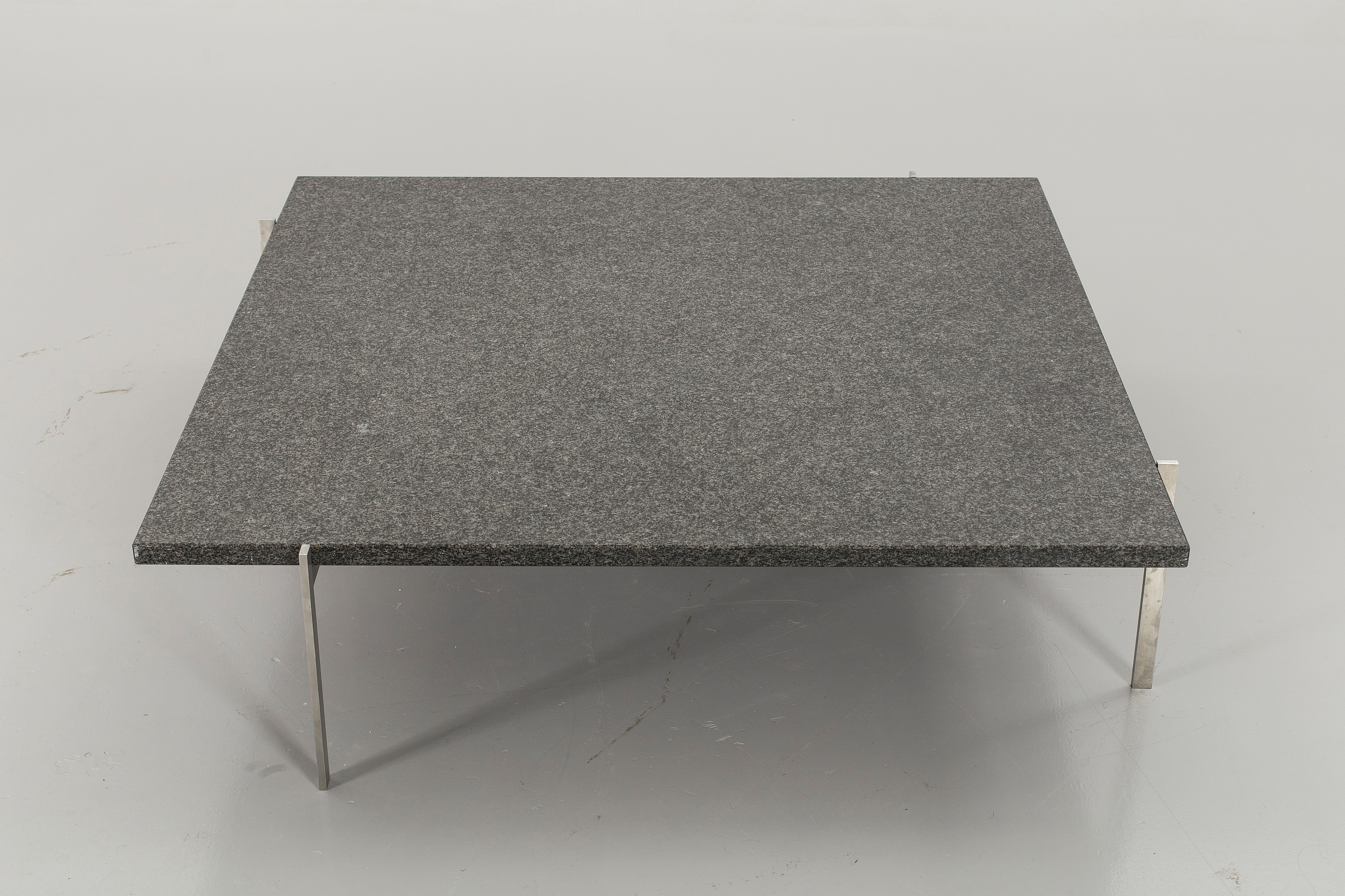 A Poul Kjaerholm \'PK-61A\' granite top sofa table, Fritz ...