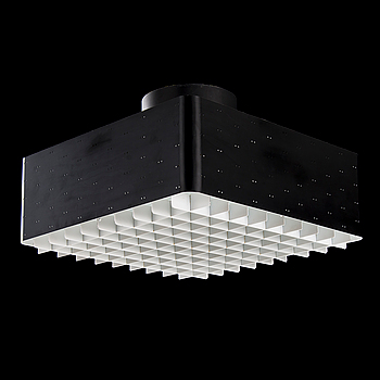 PAAVO TYNELL, A 1950s model 9068 ceiling light.