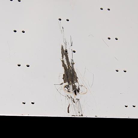Paavo tynell, taklampa, modell 9068, 'tähtitaivas' (stjärnhimmel), 1950 tal