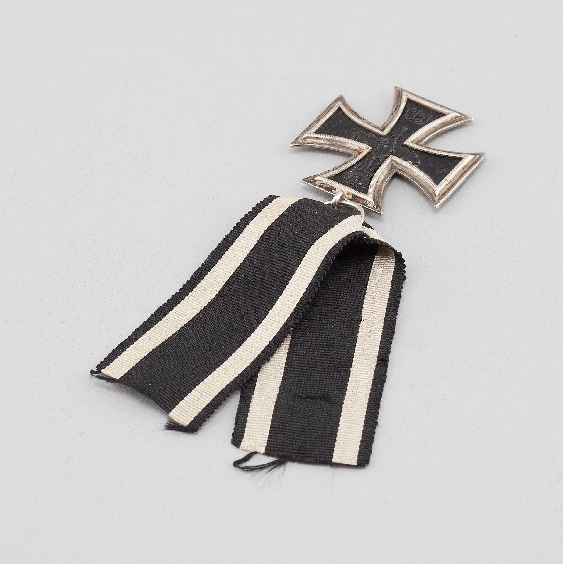 The iron cross, 1914- 18  - Bukowskis