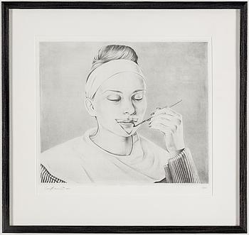 CARL HAMMOUD, litografi, signerad Carl Hammoud och daterad 2011, numrerad 19/60.