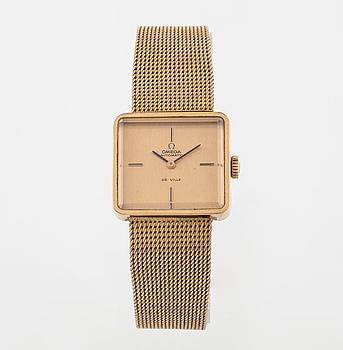 """OMEGA, De Ville, """"fab.suisse"""", armbandsur, 25 x 22 mm."""