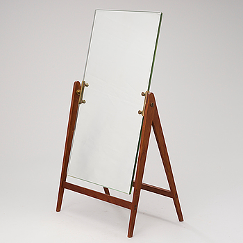 A mid-20th Century table mirror.