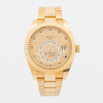 ROLEX, Sky-Dweller, Osyster Perpetual, armbandsur, 42 mm,
