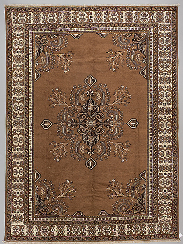 A carpet from ferdos, around 390 x 291 cm