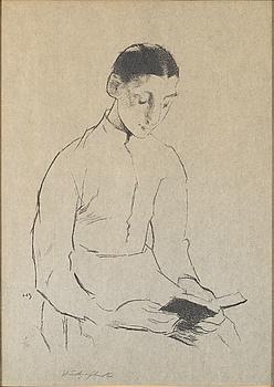 HELENE SCHJERFBECK, litografi, signerad med blyerts, numrerad 3/70.