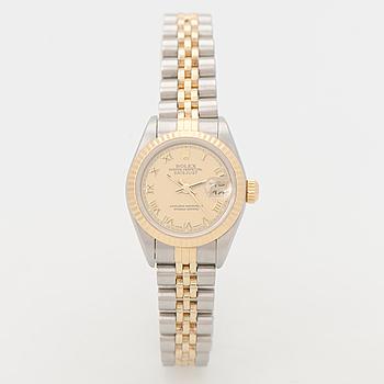 ROLEX, Oyster Perpetual Datejust, armbandsur, 26 mm.