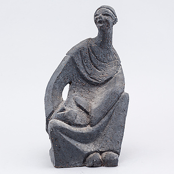 HASSAN HESHMAT, skulptur, signerad.