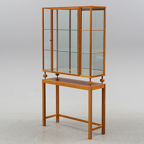 A model 2077 vitrine by josef frank for firma svensk tenn, post 1985