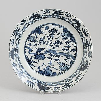 SKÅLFAT, porslin, Kina, 1900-tal.