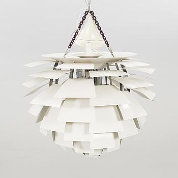 "POUL HENNINGSEN, taklampa ""PH-Kotte / PH Artichoke"", för Louis Poulsen, Danmark, formgiven 1958."