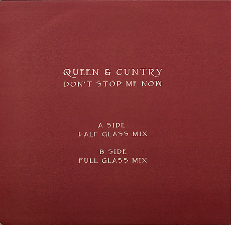"""Banksy, 12"""" ep with cover, """"queen & cuntry"""", realeased 2008."""