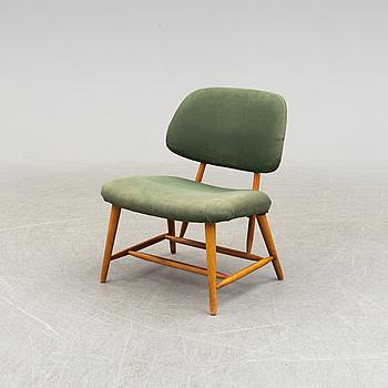 "ALF SVENSSON, stol ""TeVe"" Ljungs Industrier ur serien Bra Bohag 1950-tal."