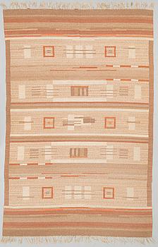 LAILA KARTTUNEN, A 1930s FLAT WEAVE CARPET for  Aaltosen Mattokutomo Kiikka, Finland.