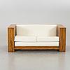 An art deco style sofa.