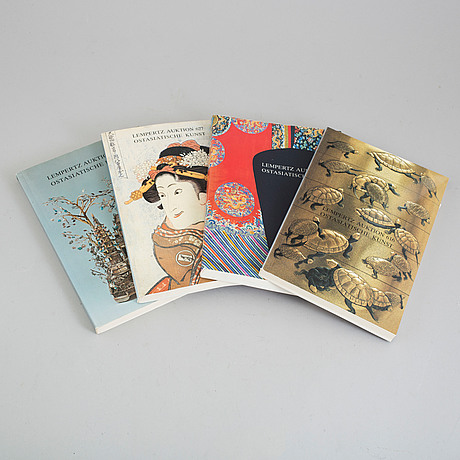 Auction catalogues, japanese works of arts (12 books).