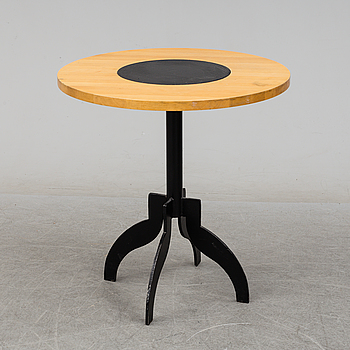 "A table, ""Triptyk II"" by Jonas Bohlin for Källemo 1988."