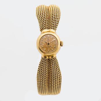 DAMARBANDSUR, 18K guld, Omega Ladymatic.