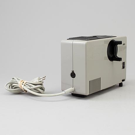 """Robert oberheim, diaprojektor """"d7"""", braun, 1970"""