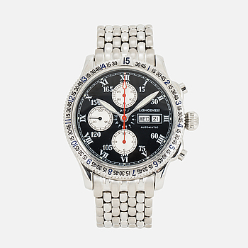 LONGINES, Special Series, Charles Lindbergh, kronograf, armbandsur, 42 mm,