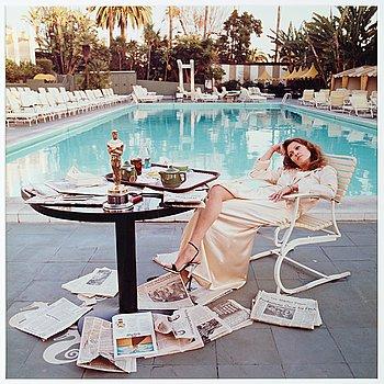 "222. Terry O'Neill, ""Faye Dunaway, Hollywood, 1977""."