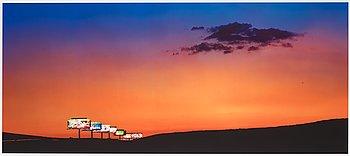 "231. Albert Watson, ""15 North, Exit 25, Las Vegas, 2001""."