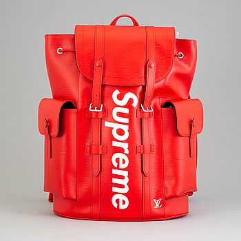 "REPPU, ""Supreme Christopher"", Louis Vuitton, 2017."