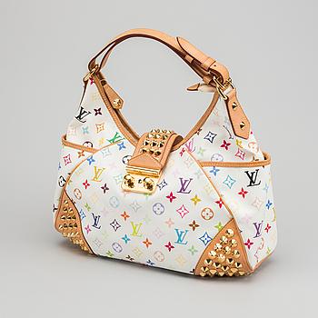 """LOUIS VUITTON väska """"Multicolor Chrissy White""""."""