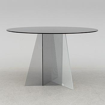 """TOM DIXON, matbord, glas, Trace"""", 2010-tal."""