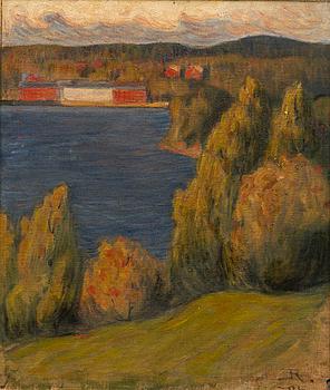 JALMARI RUOKOKOSKI, Oil on canvas, signed and dated -06.