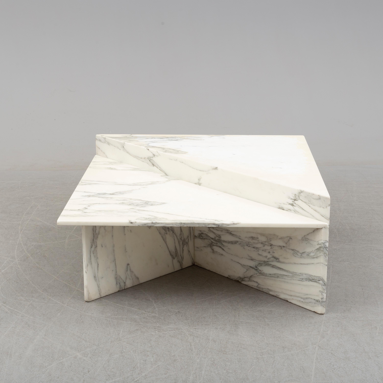 A 1970s Italian Marble Coffee Table Bukowskis
