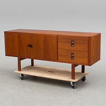 LENNART BENDER, A 1960's teak and teak veneer 'Cororna' sideboard, Ulferts, Tibro.