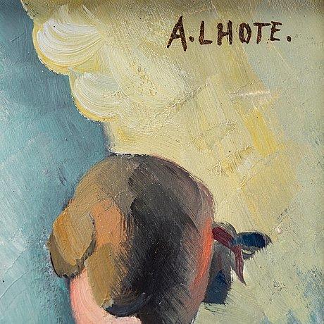 """André lhote, """"hommage à watteau""""."""