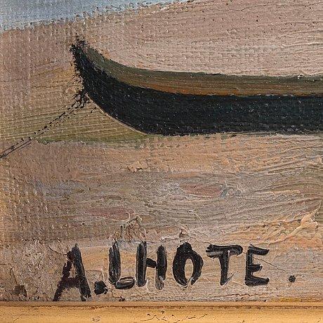 """André lhote, """"plage de piquey""""."""