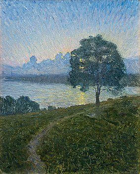 """422. EUGÈNE JANSSON, """"Mot solnedgången""""."""