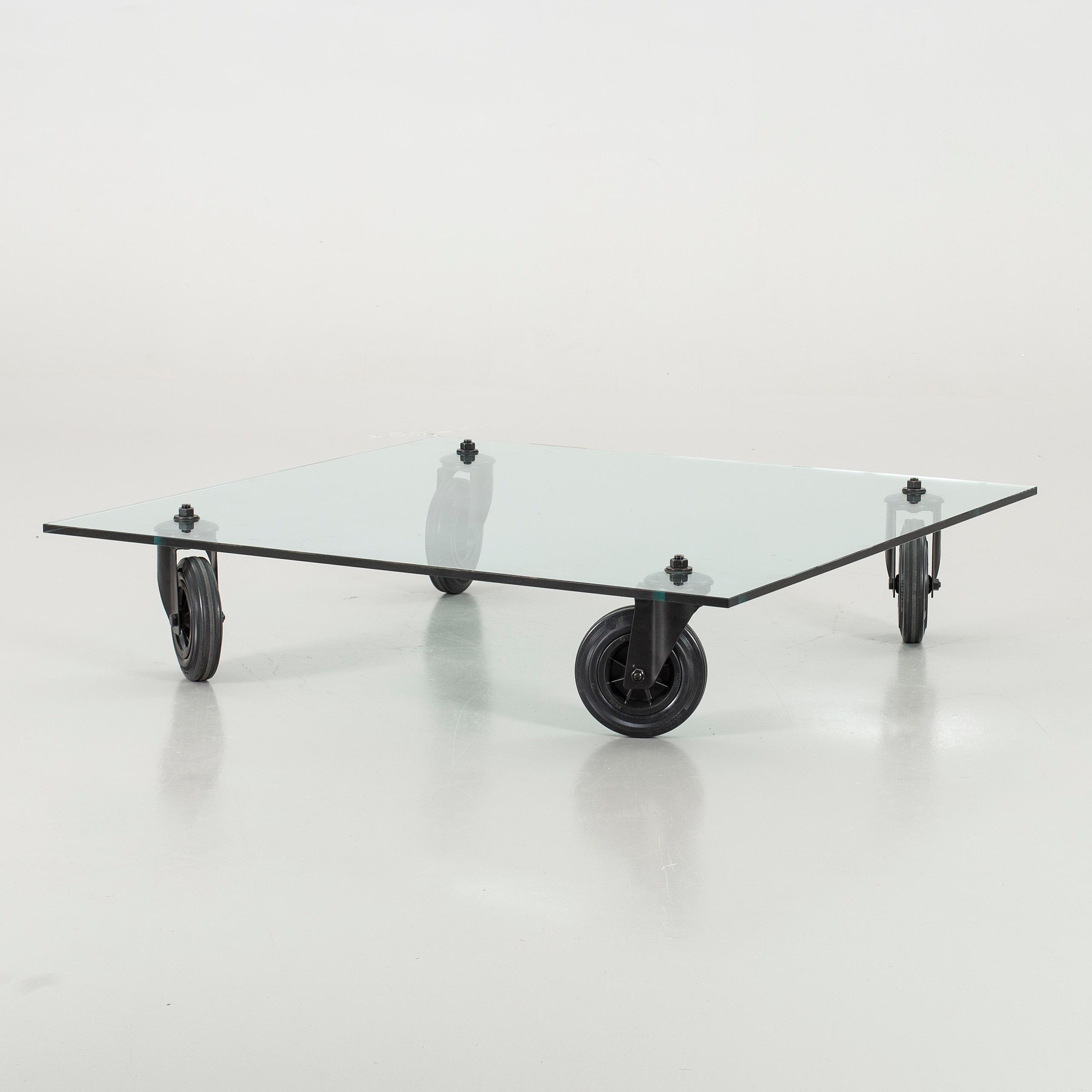 Tavolo Con Ruote.Coffee Table Tavolo Con Ruote Fontana Arte Bukowskis