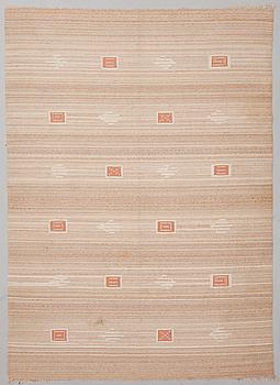 TOINI KALLIO, A 1930s  flat weave carpet for Aaltosen Mattokutomo, Kiikka, Finland. Circa 240x175 cm.