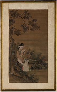 A Chinese painting, 20th century.