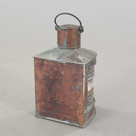 A 20th century ship's lantern by c.m hammar.
