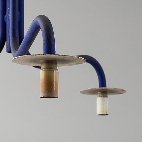 Jonas bohlin, taklampa, unik för rolfs kök, omkring 1990