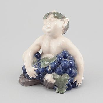 VILHELM WALDORFF, figurin, nr 2361, porslin, Royal Copenhagen, 1900-talets andra hälft.