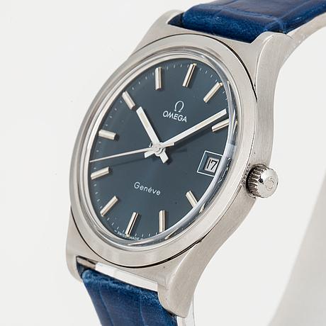 Omega, genève, armbandsur, 36,5 mm,