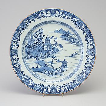 FAT, porslin, Kina Qianlong (1736-1795).