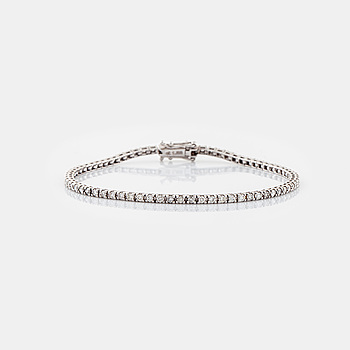 ARMBAND, med briljantslipade diamanter totalt ca 1.30 ct.