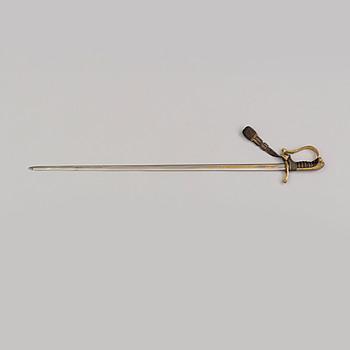 SABEL, svensk, m/1899 för infateriofficer med balja.