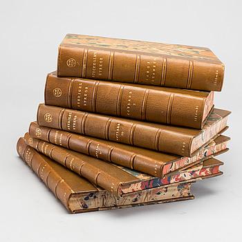 SVERIGES KYRKOR, 6 vol, bland annat  Sigurd Curman och Johnny Roosval, Stockholm 1934.
