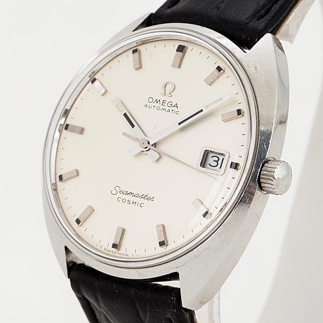 Omega, seamaster cosmic, armbandsur, 35 (38) mm
